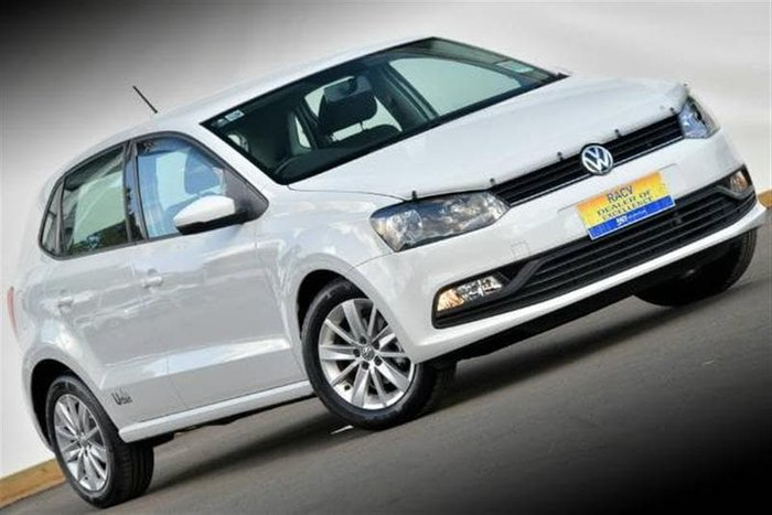 2017 Volkswagen Polo 66TSI Urban 6R MY17.5 White