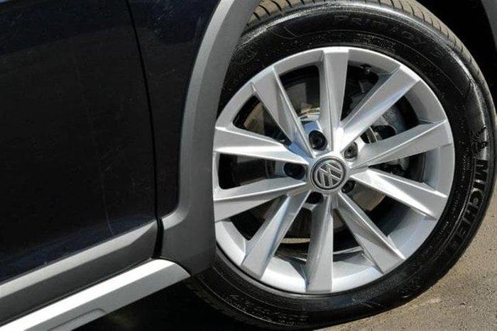 2018 Volkswagen Golf Alltrack 132TSI 7.5 MY18 Four Wheel Drive Black