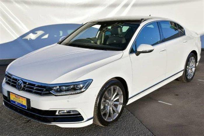 2017 Volkswagen Passat 140TDI Highline B8 MY18 White