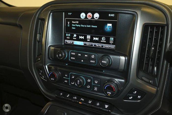 2019 Chevrolet Silverado 2500HD LTZ Midnight Edition C/K25 4X4 Black