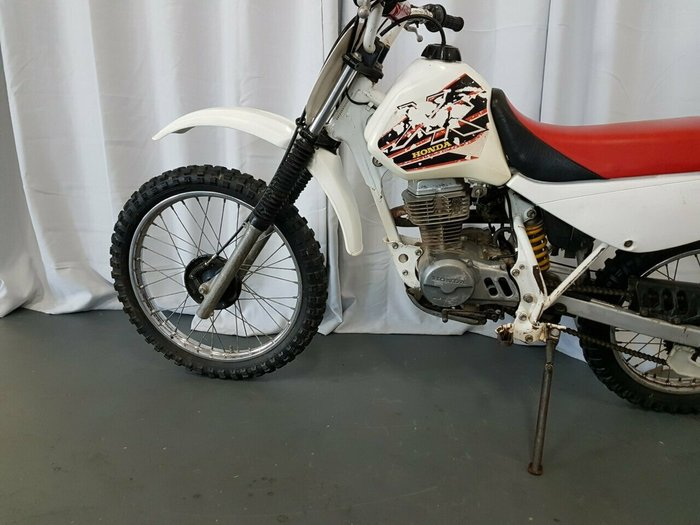 1999 Honda XR100R White