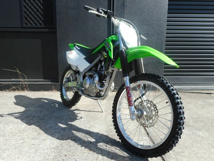 0 Kawasaki 2018 KAWASAKI 140CC KLX140BJF Green