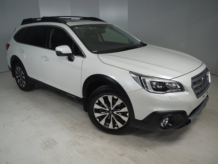 2016 Subaru Outback 2.5i Premium 5GEN MY16 Four Wheel Drive White