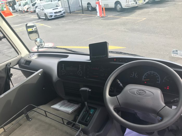 2012 Toyota COASTER coaster deluxe, wheel chair WHITE