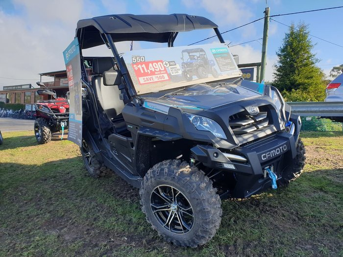 2018 CFMOTO U550 EPS null null Silver