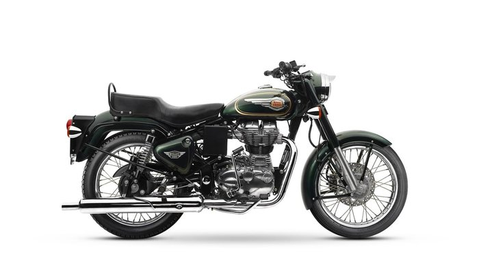 2018 ROYAL ENFIELD BULLET 500 null null Green