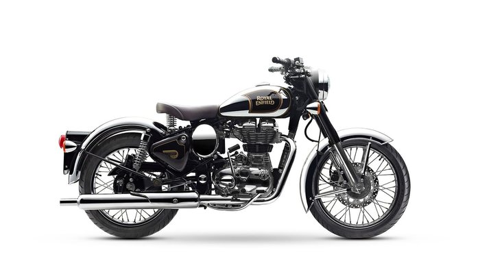 2018 ROYAL ENFIELD CLASSIC 500 null null Black