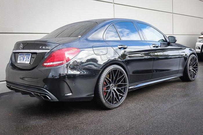 2016 Mercedes-Benz C63 AMG S W205 Black