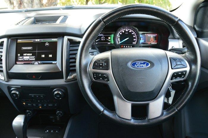 2015 Ford Ranger XLT PX MkII 4X4 Dual Range WHITE