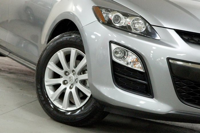 2011 Mazda CX-7 Classic Sports ER Series 2 Four Wheel Drive Silver