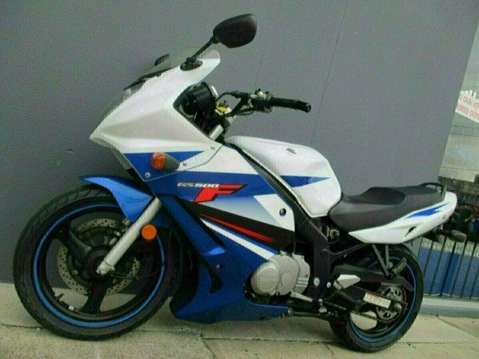 2011 Suzuki GS500F (FULL FAIRING) Blue/White