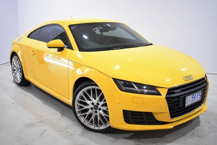 2015 Audi TT Sport FV MY16 Four Wheel Drive Yellow