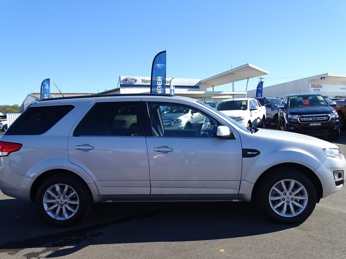 2015 Ford Territory TX SZ MkII Silver