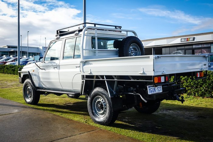 2015 Toyota Landcruiser Workmate VDJ79R 4X4 Dual Range White
