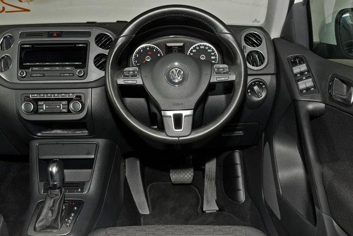 2014 Volkswagen Tiguan 132TSI Pacific 5N MY14 Four Wheel Drive White