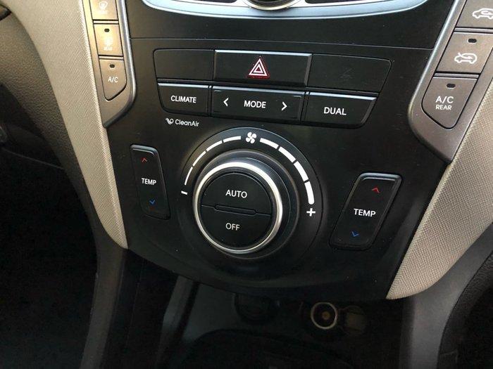 2013 Hyundai Santa Fe Highlander DM MY13 4X4 On Demand Brown