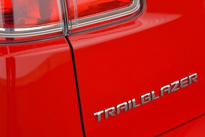 2017 Holden Trailblazer LT RG MY18 4X4 Dual Range Red