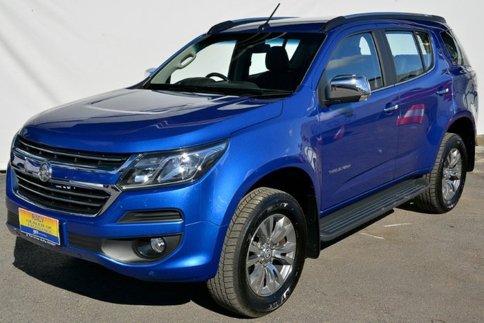 2018 Holden Trailblazer LTZ RG MY19 4X4 Dual Range POWER BLUE