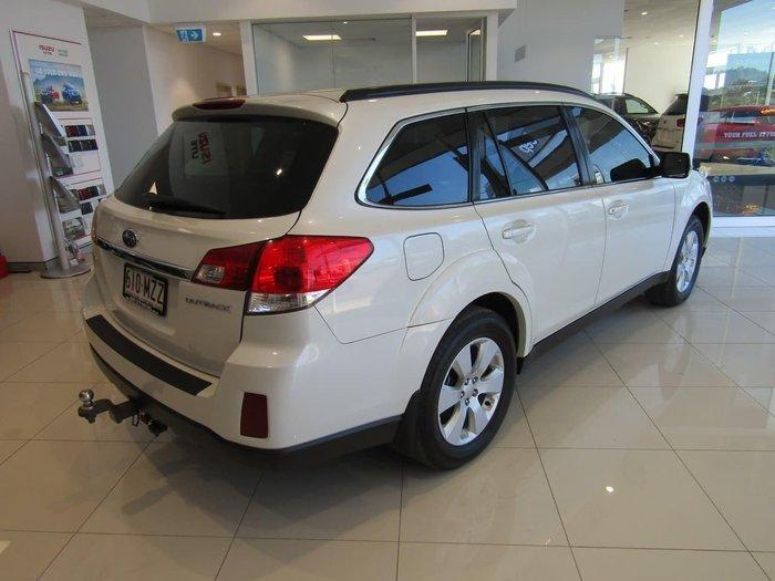 2010 Subaru Outback 2.5i 4GEN MY10 Four Wheel Drive White