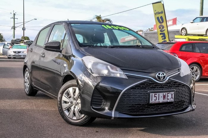 2015 Toyota Yaris Ascent NCP130R Black
