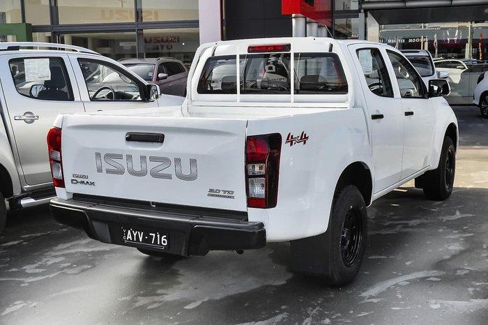 2018 Isuzu D-MAX SX MY18 4X4 Dual Range White