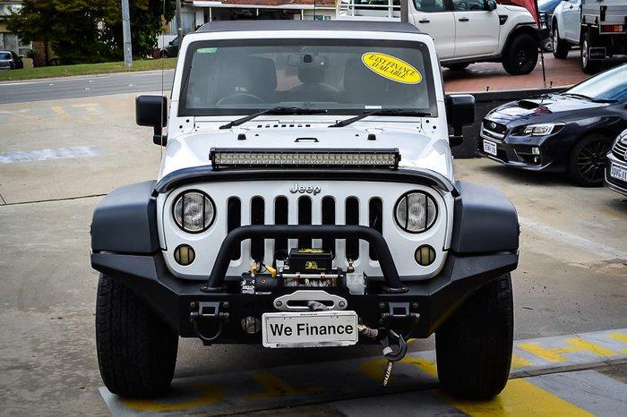 2013 Jeep Wrangler Unlimited Sport JK MY13 4X4 White