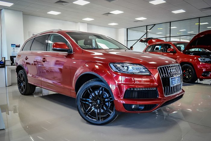 2014 Audi Q7 TDI MY15 Four Wheel Drive Red