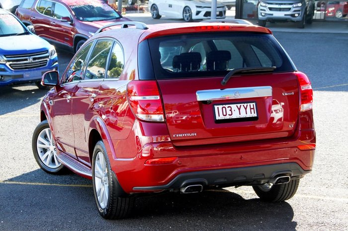 2016 Holden Captiva LT CG MY16 4X4 On Demand Red