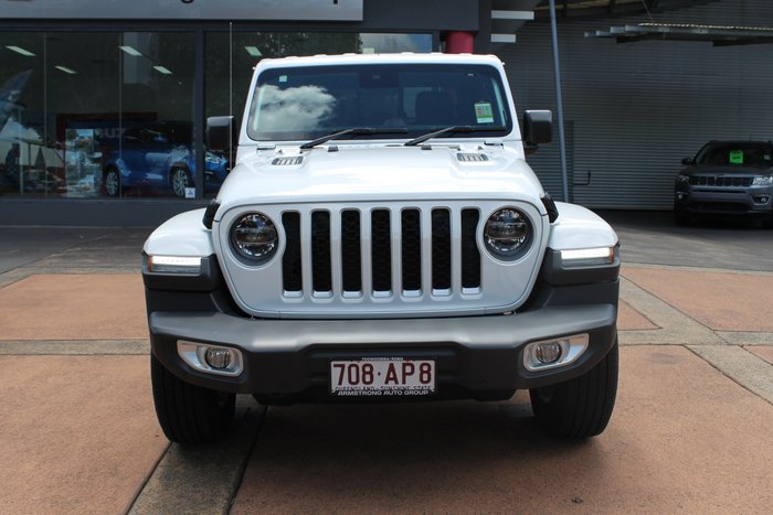 2020 Jeep Gladiator Overland JT MY20 Bright White