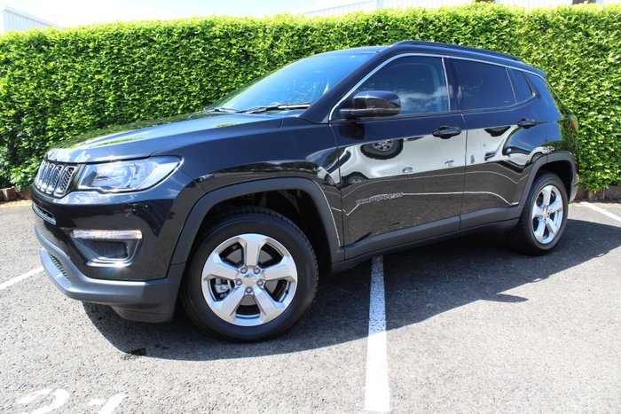 2018 Jeep Compass Longitude M6 MY18 BRILLIANT BLACK