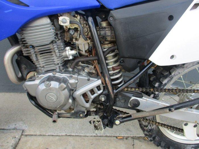 2013 Yamaha TTR230 Blue