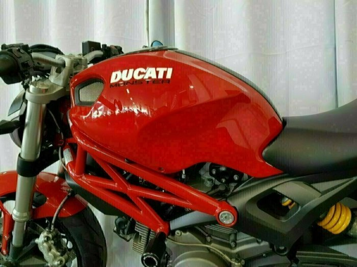 2012 DUCATI MONSTER 659 (ABS) Red