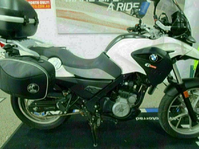 2015 BMW G 650 GS White