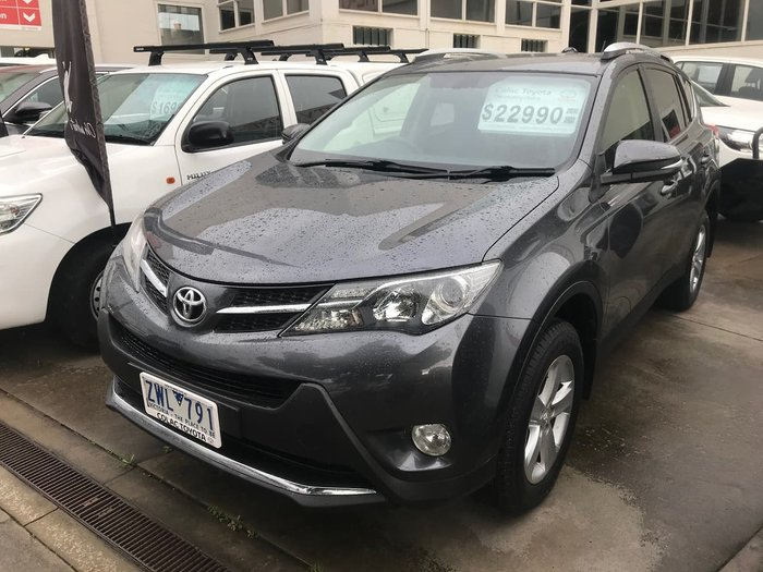 2013 Toyota RAV4 GXL ALA49R 4X4 On Demand Grey