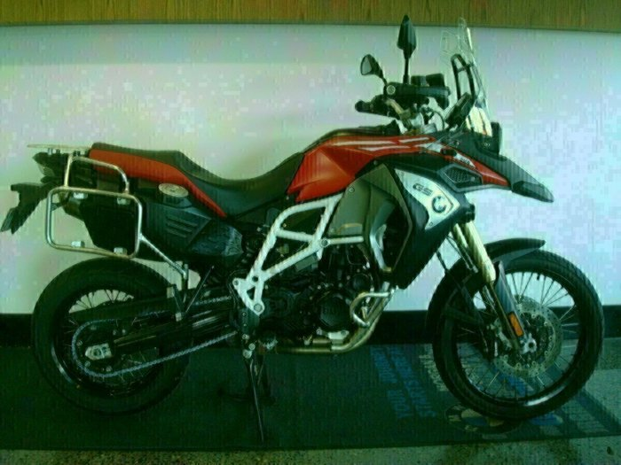 2017 Bmw F 800 GS ADVENTURE ABS Red