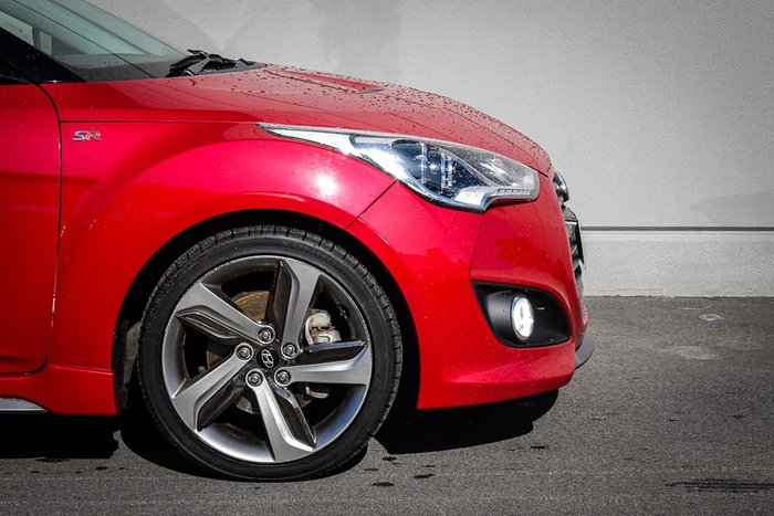 2012 Hyundai Veloster SR Turbo FS2 Red