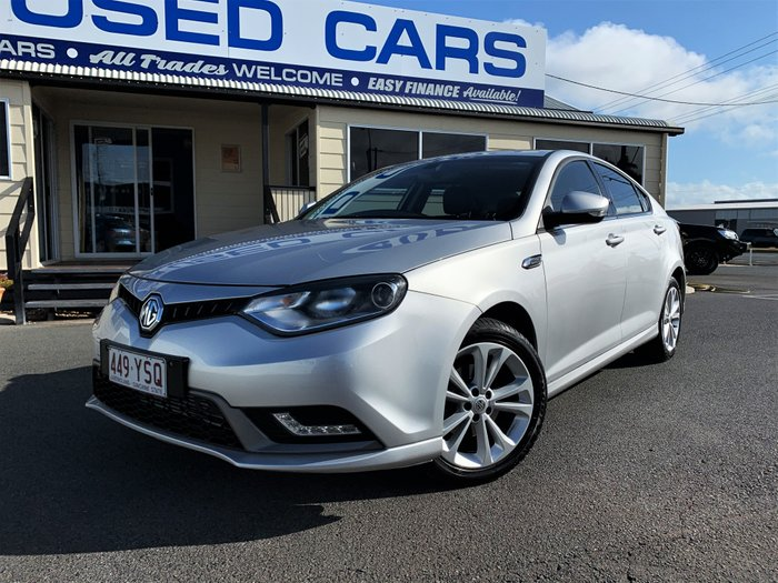 2017 MG MG6 PLUS Excite SILVER