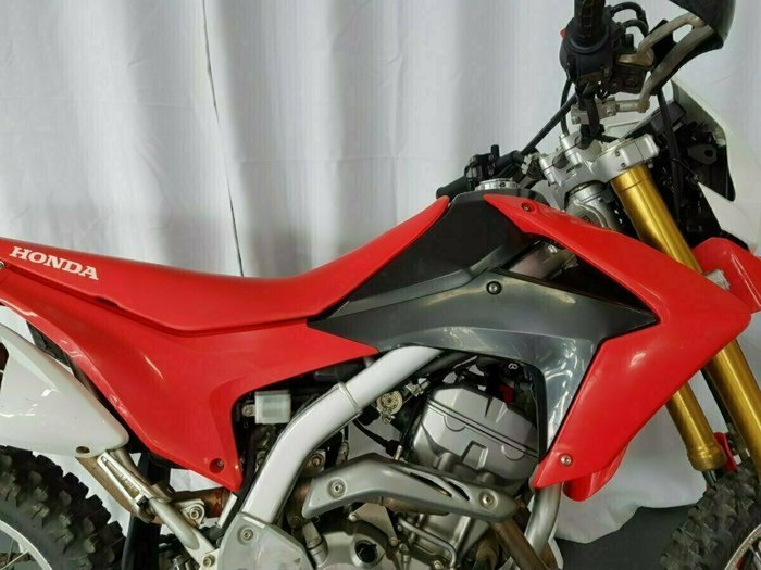 2017 Honda CRF250L Red