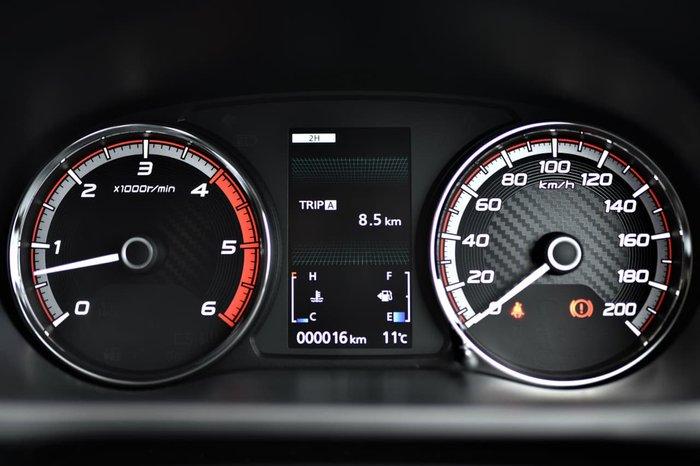 2018 Mitsubishi Triton GLX+ MR MY19 4X4 Dual Range Black