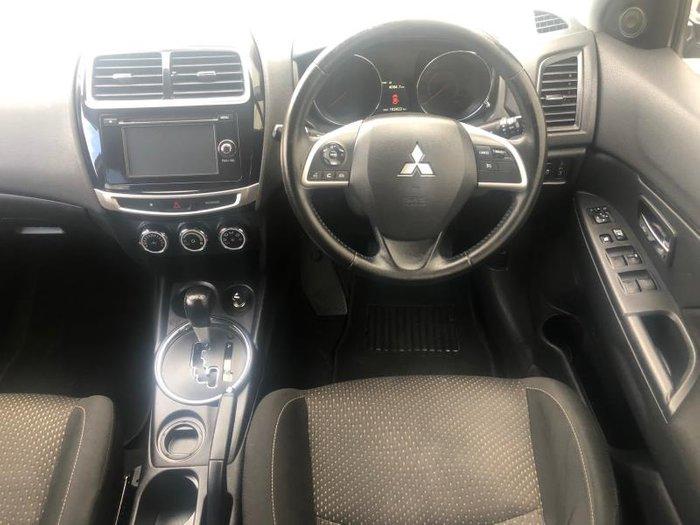 2015 MITSUBISHI ASX LS (2WD) XB MY15 GREY