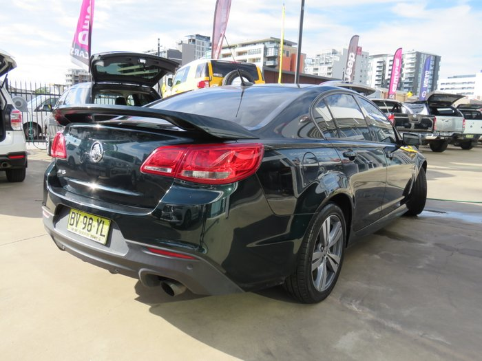 2013 Holden Commodore SV6 VF MY14 GREEN
