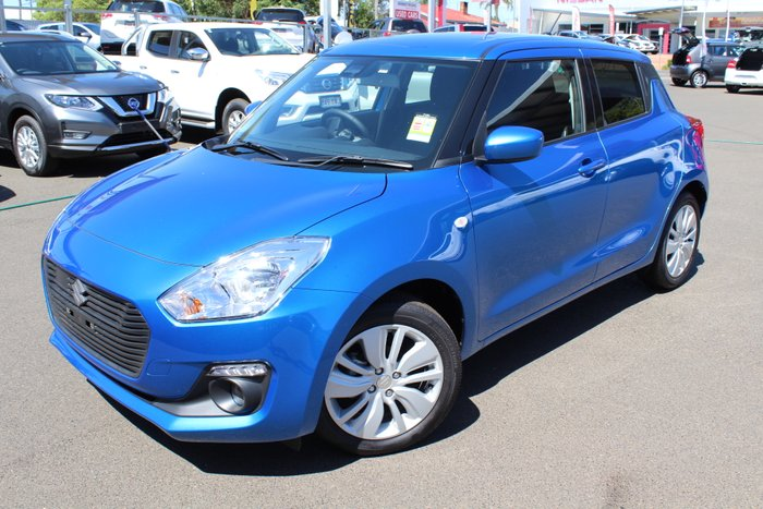 2019 Suzuki Swift GL+ AZ SPEED BLUE METALLIC