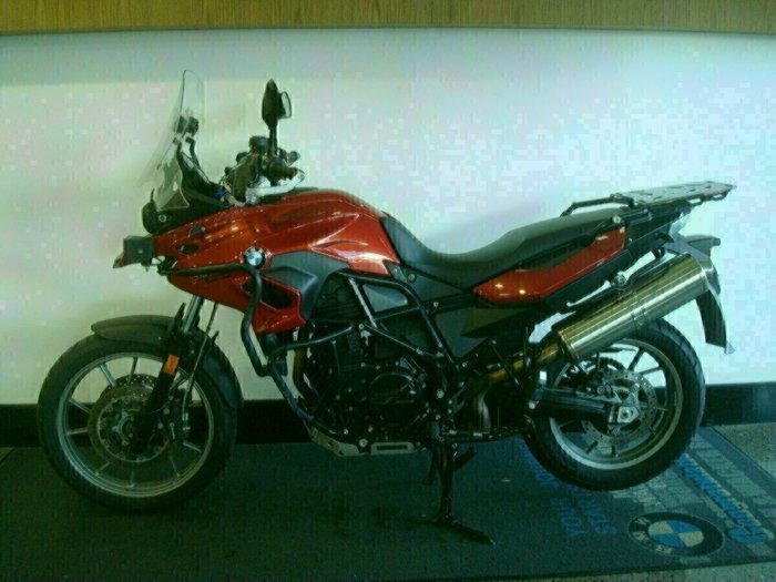 2014 Bmw F 700 GS RED APPLE