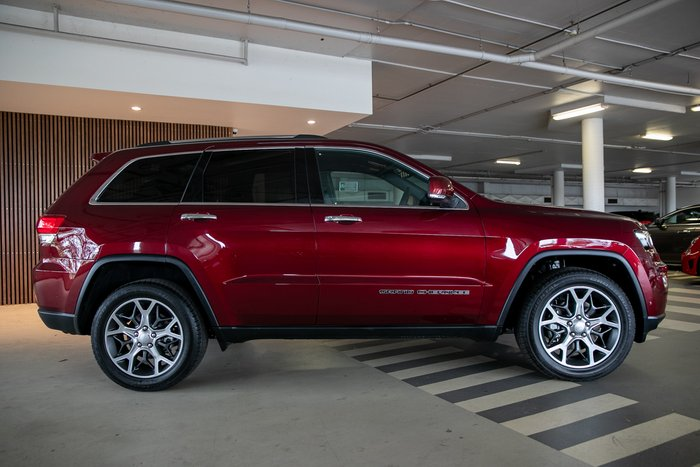 2019 Cjd Grand Cherokee Limited LIMITED 4x4 3.6L 8Spd Auto Wagon 4WD Velvet Red Pearl