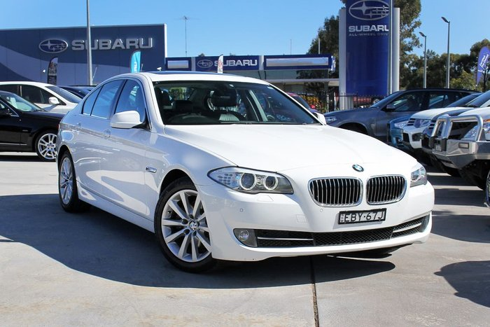 2012 Bmw 520d F10 My13 White For Sale In Suburb