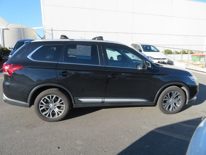 2015 Mitsubishi Outlander XLS ZK MY16 4X4 On Demand Black