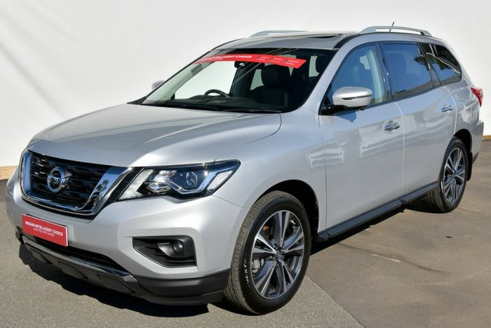 2018 Nissan Pathfinder Ti R52 Series II MY17 4X4 On Demand BRILLIANT SILVER