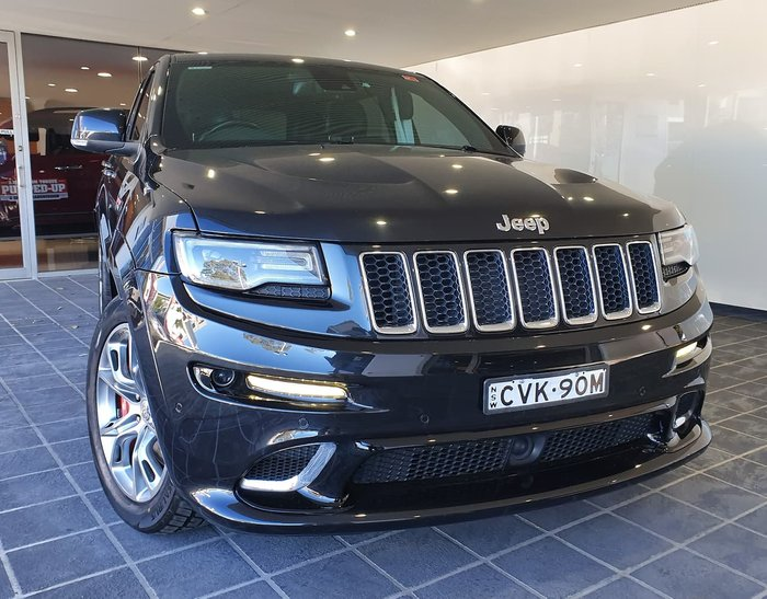 2014 Jeep Grand Cherokee SRT WK MY14 4X4 On Demand Black