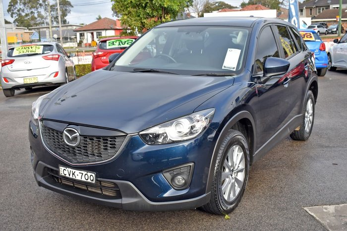 2014 Mazda CX-5 Maxx Sport KE Series MY14 4X4 On Demand Blue