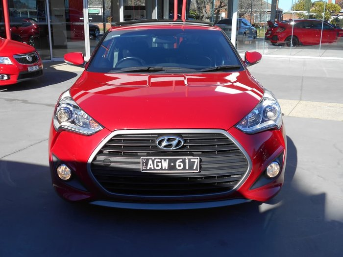2015 Hyundai Veloster SR Turbo FS4 Series II Red